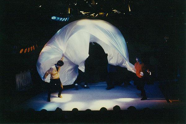 象のフン-舞台写真