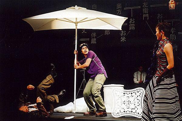 平成・円朝・牡丹燈籠-舞台写真