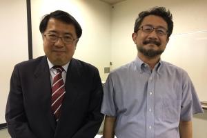 犬丸 治氏と安田雅弘
