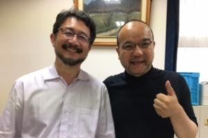安田雅弘とおくだ健太郎氏
