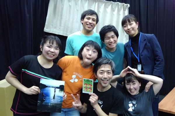 3月7日の特別ゲスト・三村 聡さんと終演後に。